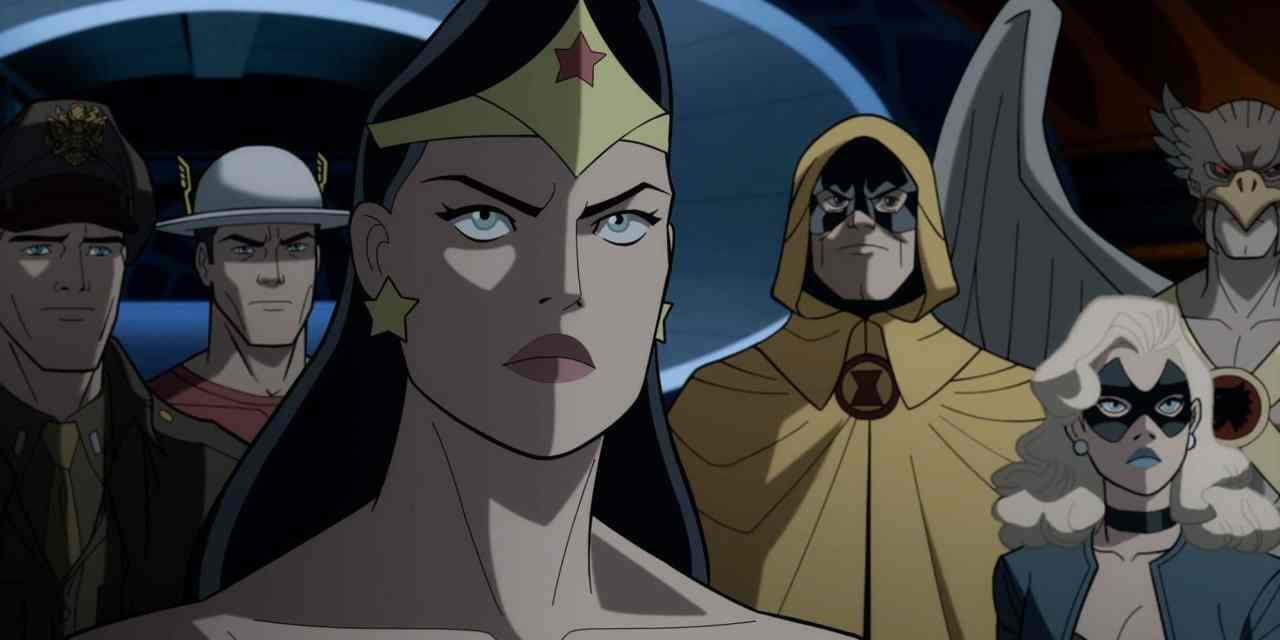 Watch A New Justice Society World War II movie Clip and Get The Details On The Home Release Extras