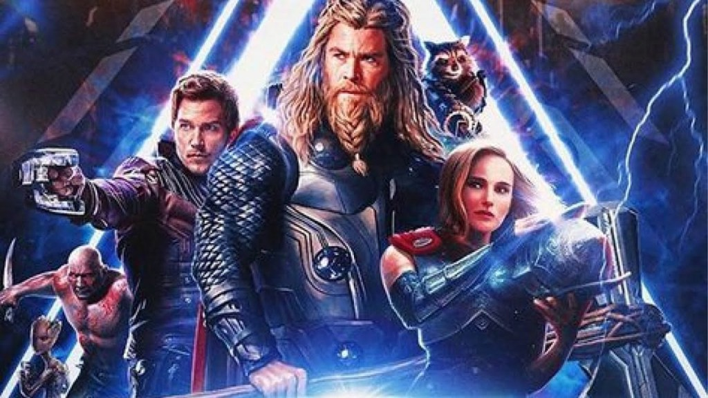 Thor Love and Thunder fan art