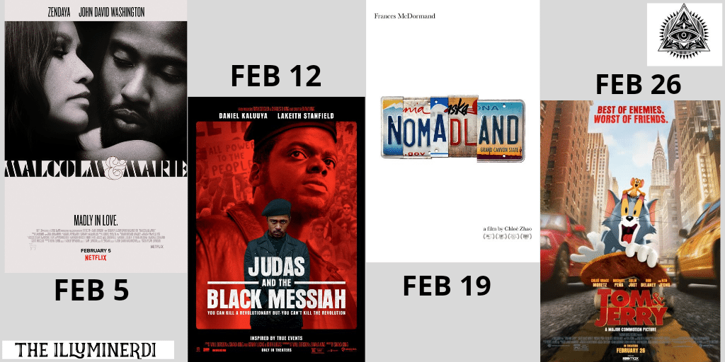 New February Movies In 2021 You Don't Want To Miss