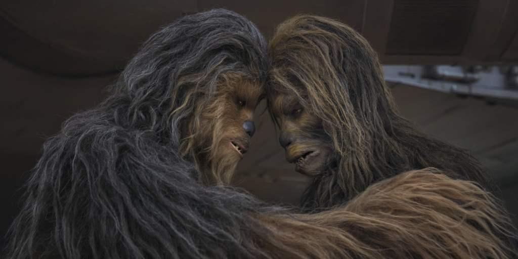 Wookiees The Mandalorian