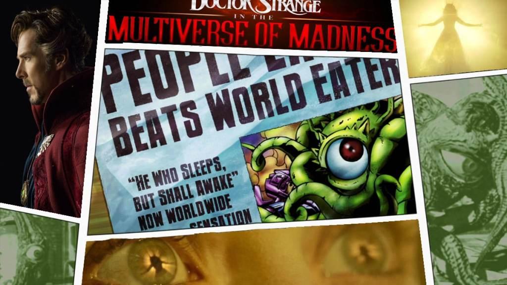 Doctor Strange in the Multiverse of Madness Doctor Strange 2 Shuma Gorath Wanda Maximoff Scarlet Witch