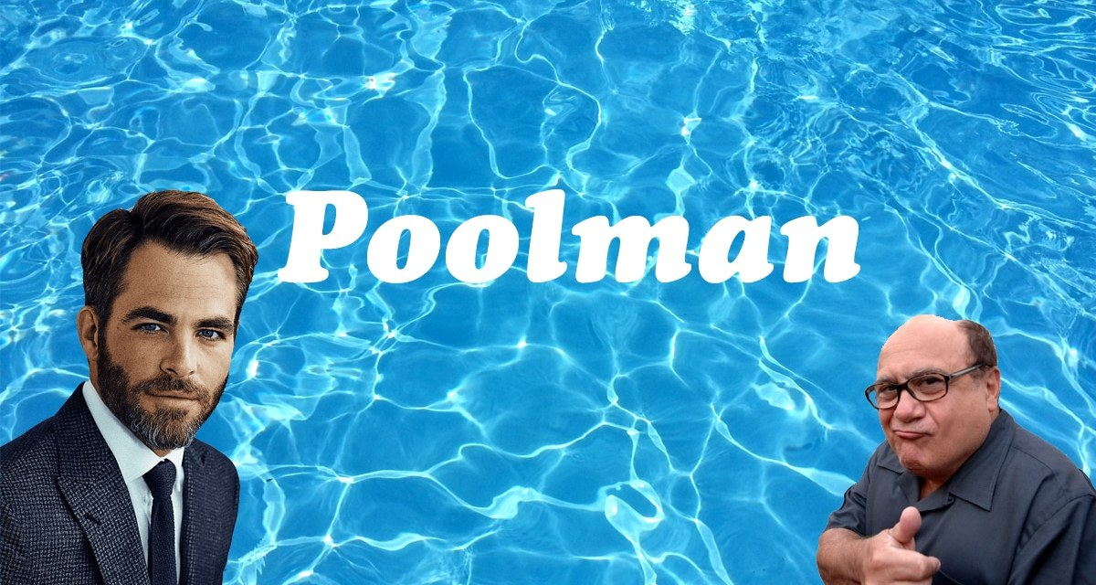 PoolMan: Chris Pine To Write, Direct, And Star In Upcoming Mystery Flick With Danny Devito: Exclusive
