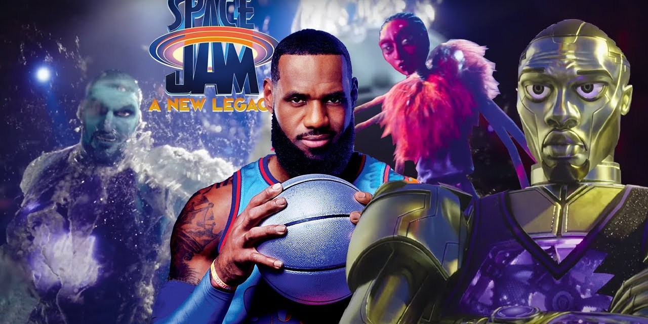 A Detailed Look At The Goon Squad Posters From Space Jam: A New Legacy