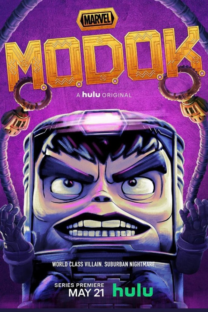 MODOK M.O.D.O.K Patton Oswalt poster
