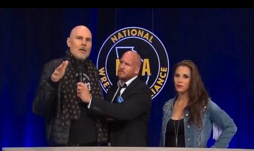NWA Billy Corgan and Mickie James