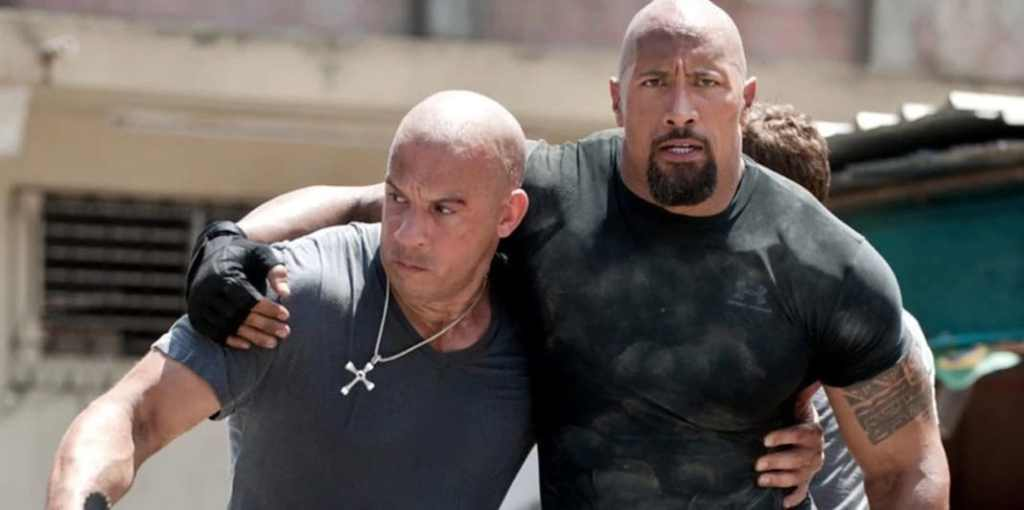 Fast and the Furious Vin Diesel The Rock