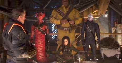 chris pratt and guardians cast