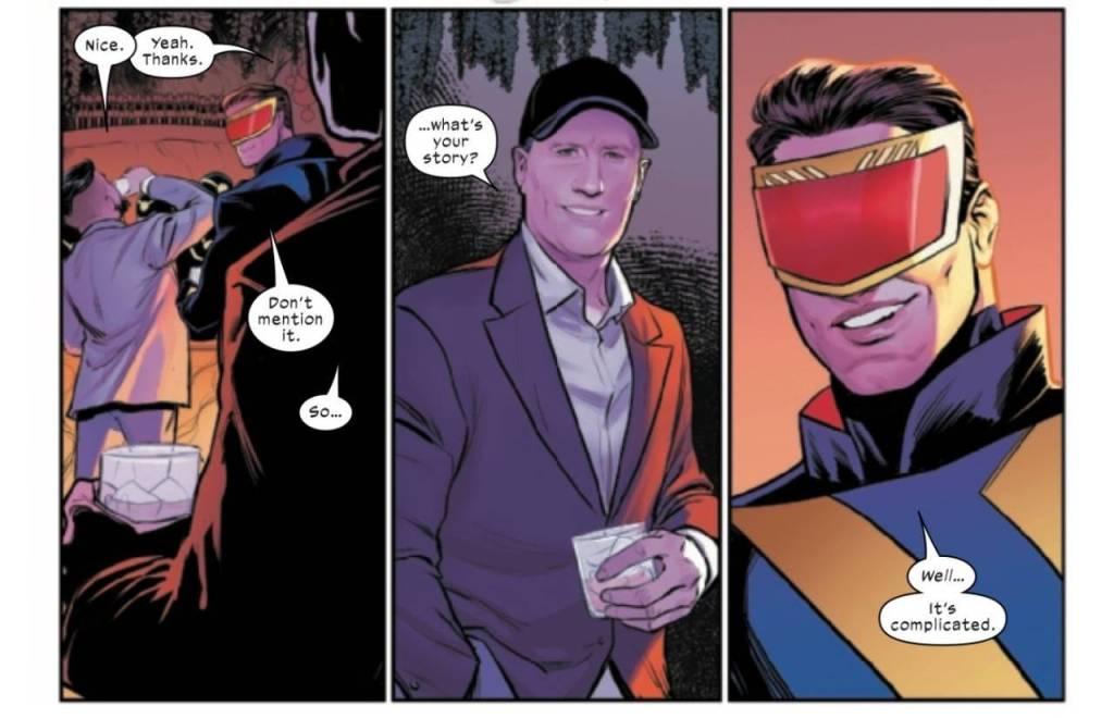 Marvel Studios Head Kevin Feige Makes A Surprise Appearance In Jonathan Hickman's X-MEN #21 - The Illuminerdi