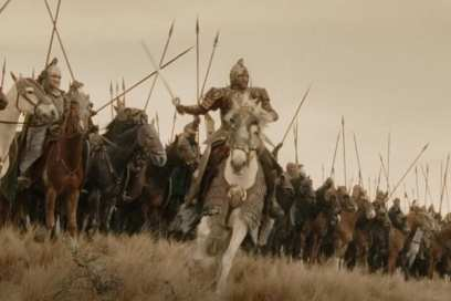 lord of the rings - the ride of the rohirrim