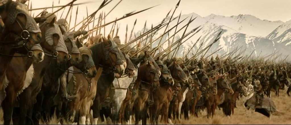 lord of the rings - the war of rohirrim animation