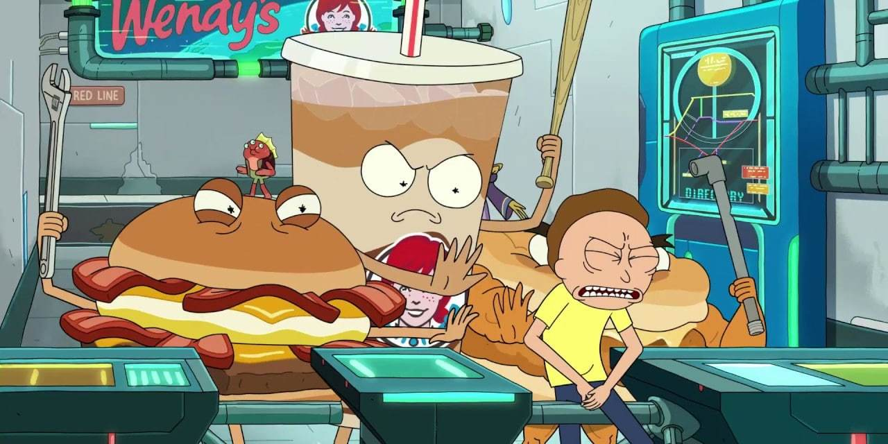 Rick And Morty Partners With Wendy's For Unexpected Fast Food Surprises