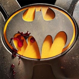 the flash batman logo - ezra miller