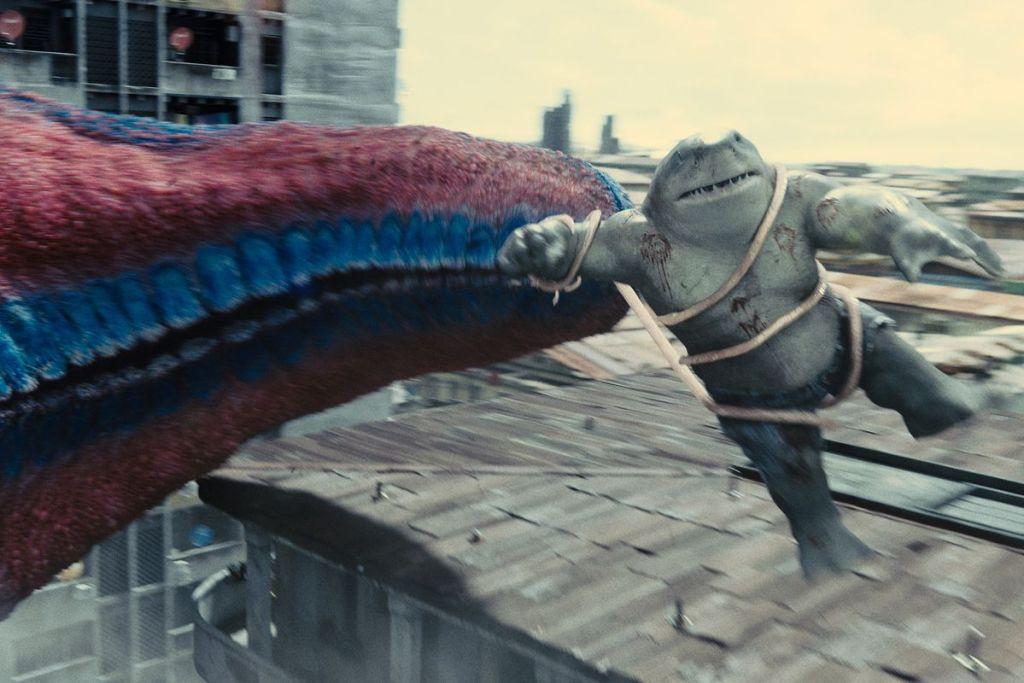 The Suicide Squad King Shark Idris Elba Bloodsport