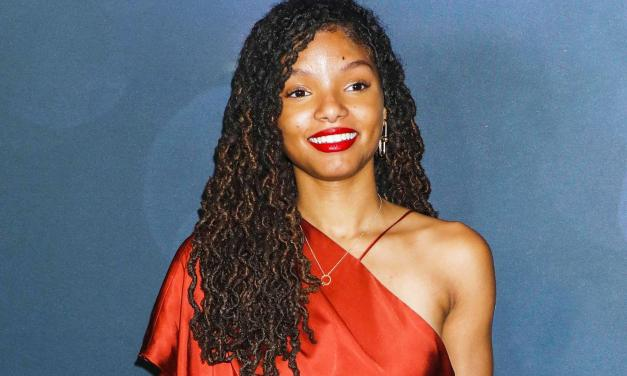 The Little Mermaid Set Photos Reveal 1st Look At Halle Bailey Dressed Up As iconic Ariel