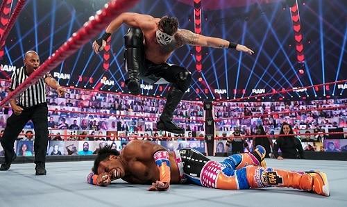 WWE Retribution Slapjack/Shane Thorne