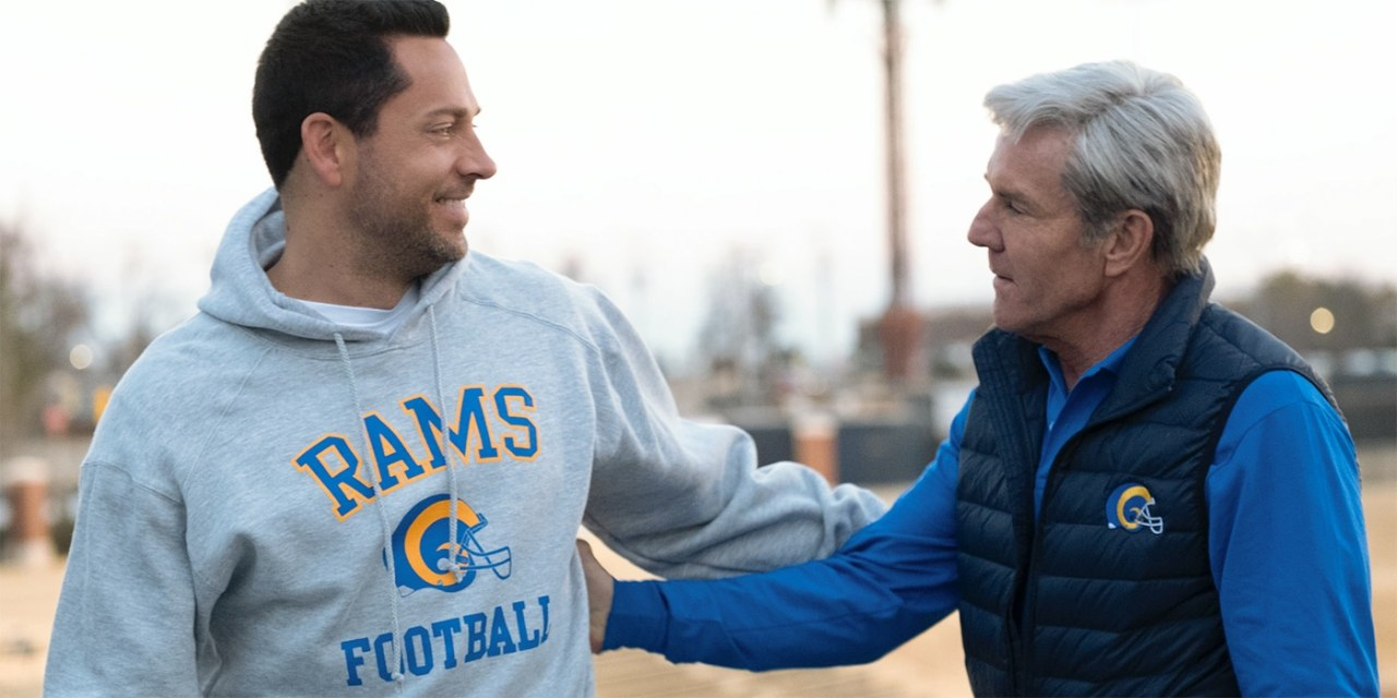 American Underdog: First Pictures of Zachary Levi and Dennis Quaid in New NFL Biopic