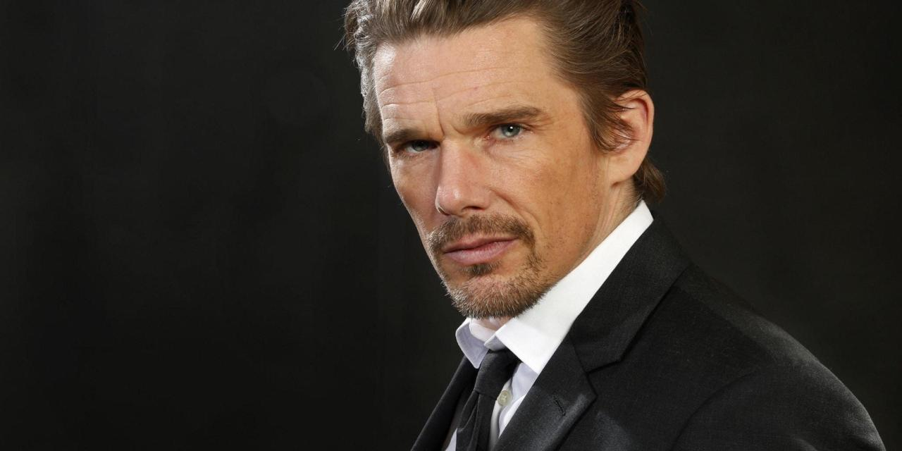 Ethan Hawke Spotted On The Killer Set of Knives Out 2