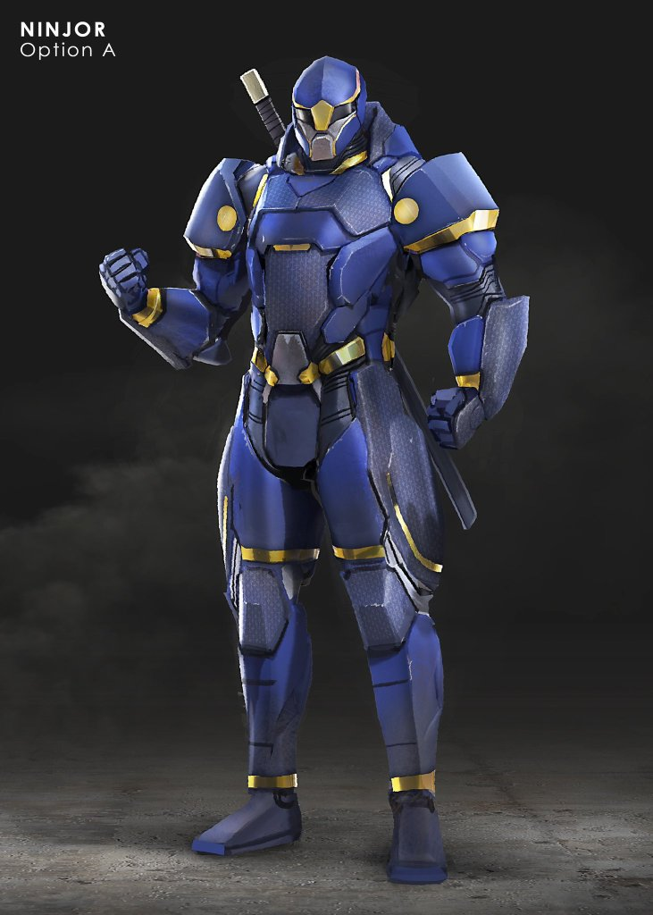 Project Nomad, The Canceled Power Rangers Game Pitch, Shows Off Its Concept Art - The Illuminerdi