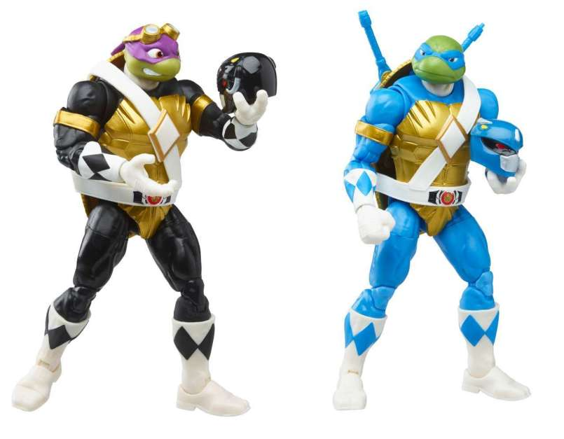 New Mighty Morphin Power Rangers/Teenage Mutant Ninja Turtles Crossover Figures Avaliable for Pre-order - The Illuminerdi