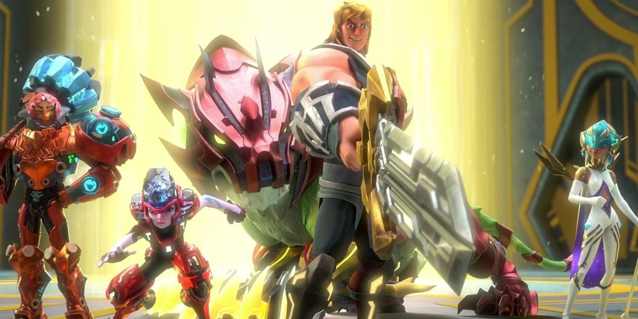 HE-MAN AND THE MASTERS OF THE UNIVERSE: Netflix Releases Surprise Trailer For CG Remake