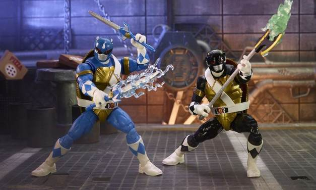 New Mighty Morphin Power Rangers/Teenage Mutant Ninja Turtles Crossover Figures Avaliable for Pre-order