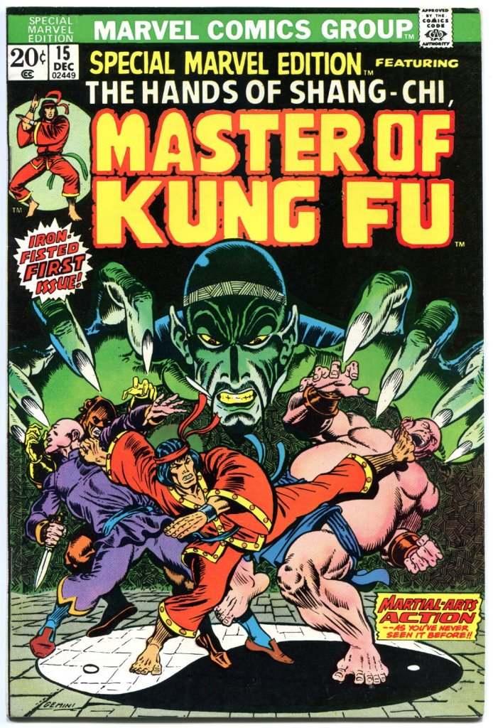 Shang-chi comic cover first appearance