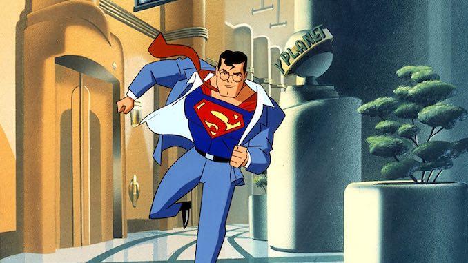superman - animated series main