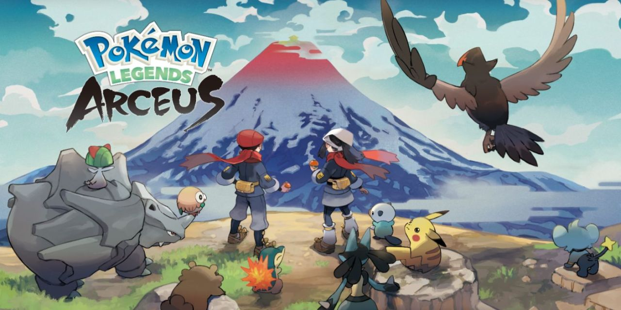 Pokemon Legends: Arceus Trailer Shows Off Combat, Exploration, And Pokemon Attacking You