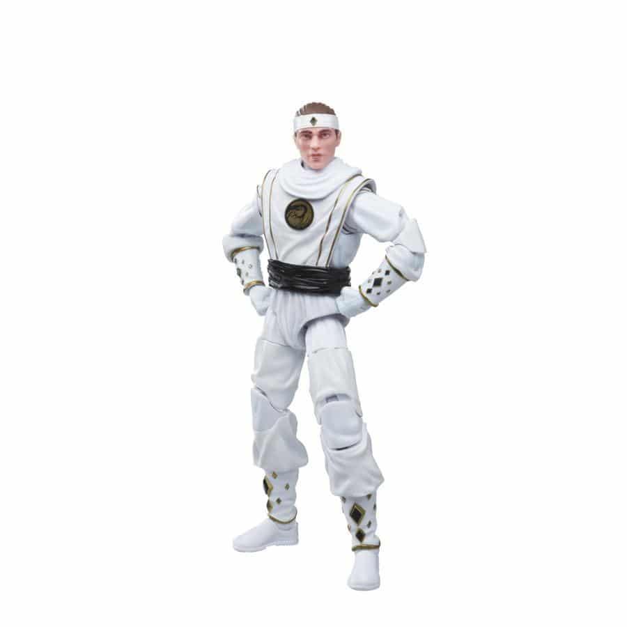 hasbro white ninja ranger