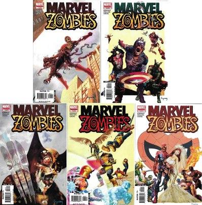 marvel zombies comics