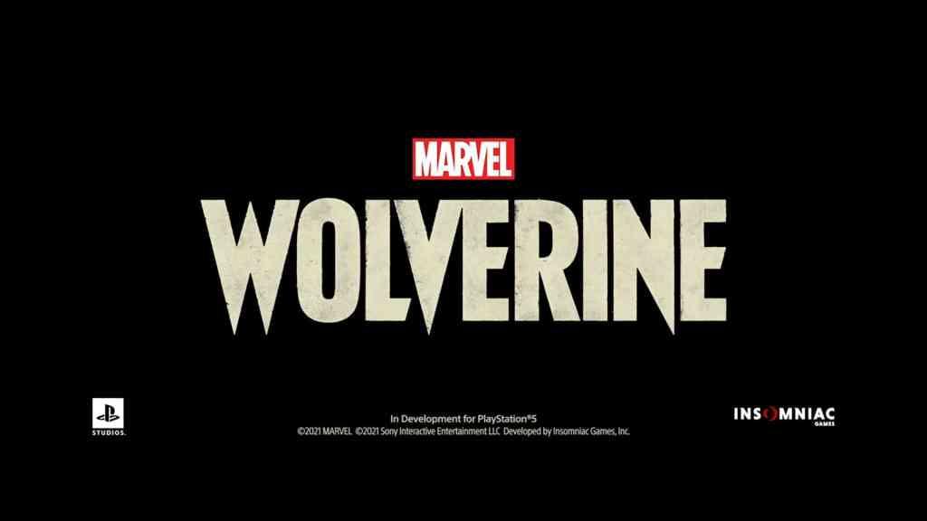 Marvel's Wolverine PS5 Logo