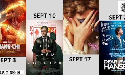 September 2021: Exciting New Movies You Don't Want To Miss