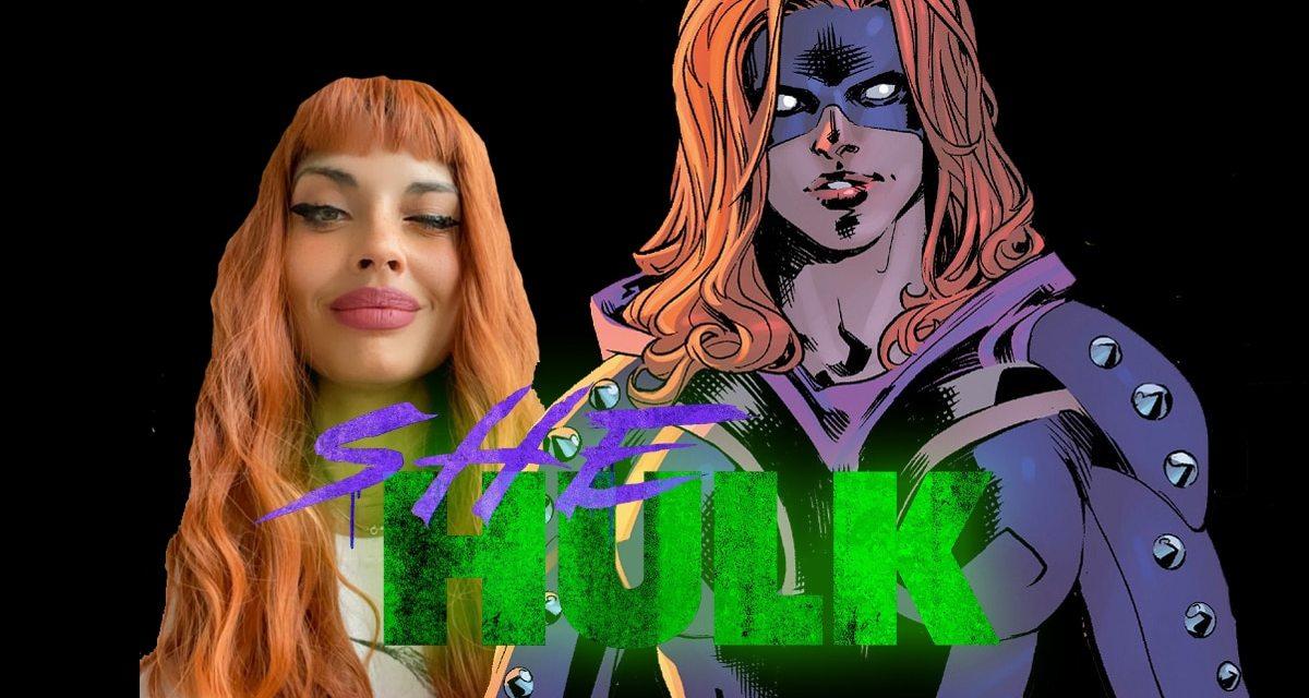 SHE-HULK Star Jameela Jamil Reveals Her Comic Accurate Titania Hairstyle IN NEW Mark Ruffalo BTS Photo