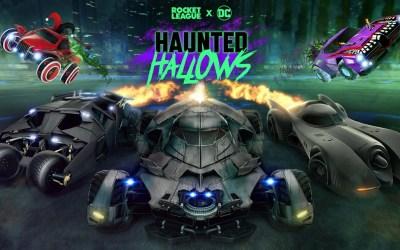 Batman Returns To Rocket League For Haunted Hallows