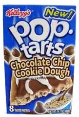 Chocolate Chip Cookie Dough Pop-Tarts