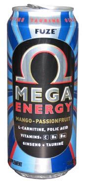 Fuze Mega Energy Drink