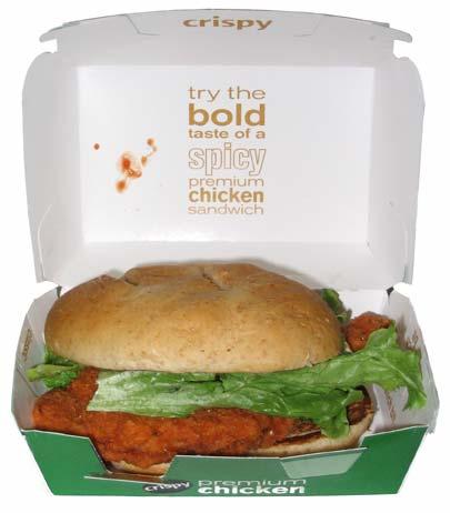 McDonald's Spicy Premium Chicken Sandwich - The Impulsive Buy
