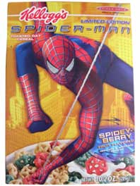 Spider-Man Cereal
