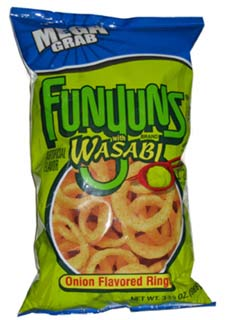 Funyuns With Wasabi
