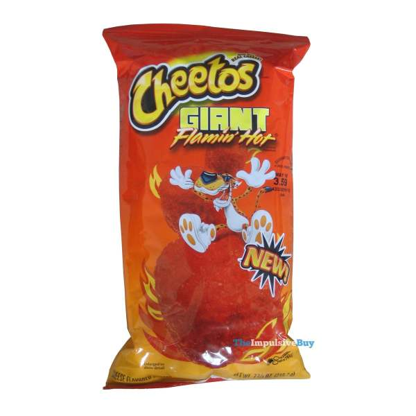 Cheetos Giant Flamin' Hot