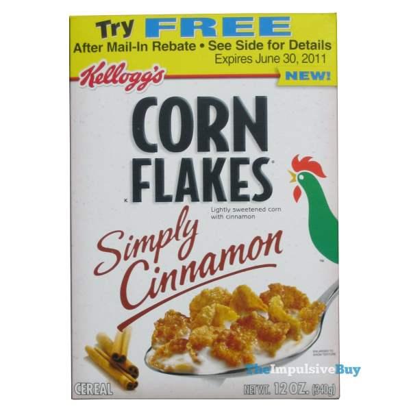 Kellogg's Simply Cinnamon Corn Flakes