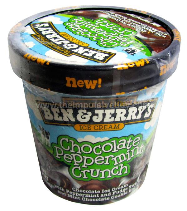 Ben & Jerry's Chocolate Peppermint Crunch