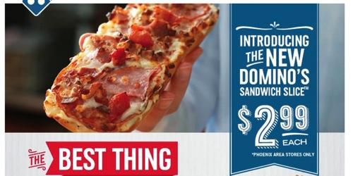 Domino s Sandwich Slice