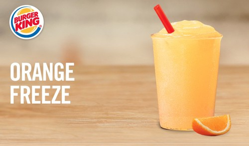 Burger King Orange Freeze