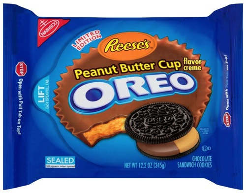 Nabisco Reese s Peanut Butter Cup Creme Oreo Cookies