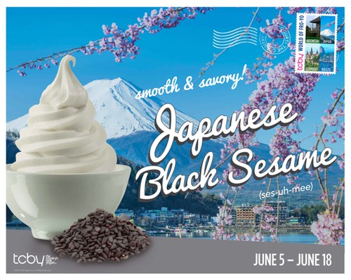 TCBY Poster 2014 Flavor Japan Sesame Final 1