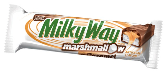 Milky Way Limited Edition Marshmallow with Caramel