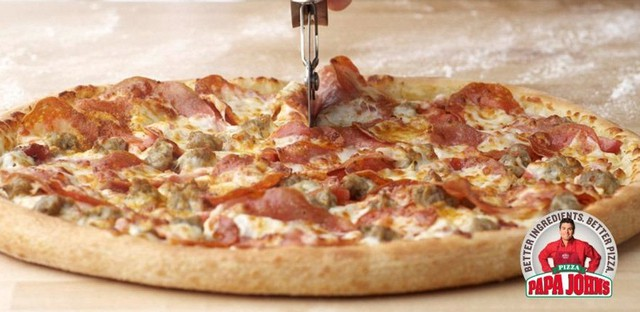 Papa John s Ultimate Meats Pizza