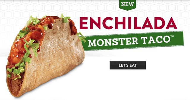Jack in the Box Enchilada Monster Taco