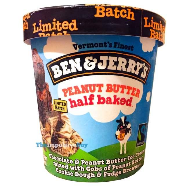 Ben & Jerry's Limited Batch Peanut Butter Half Baked Ice Cream